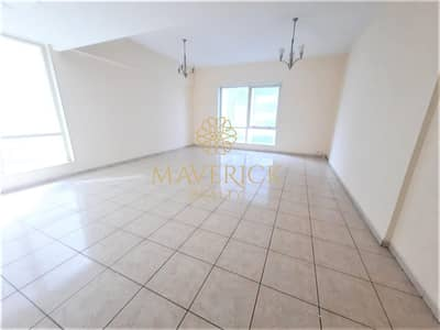 3 Bedroom Flat for Rent in Al Taawun, Sharjah - AC Free 3BHK+Balcony | Gym+Pool | 6Cheqs