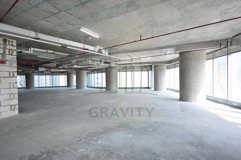 2 Hot Deal - Spacious shell & core office space I Addax Tower