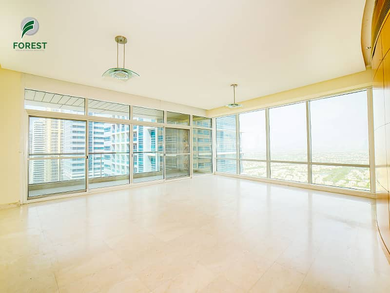 Spacious Unit |  2 Beds + Maids | Ready To Move In