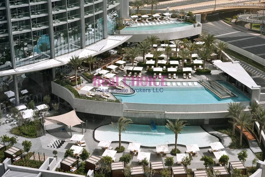 17 Highest floor Sea and DIFC view|Fully Serviced