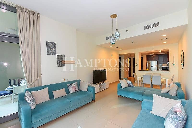 selling Furnished 1BR in Dubai Wharf T3.