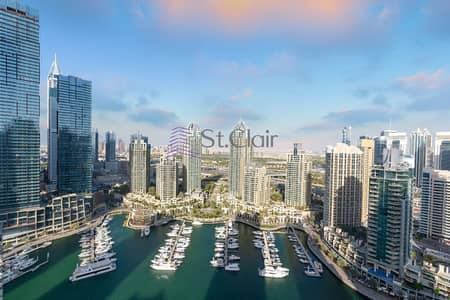 3 Bedroom Flat for Rent in Dubai Marina, Dubai - Rent It Now! Amazing 3 Bedroom Apartment at Marina Terrace Tower