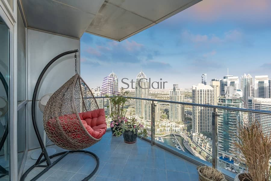 2 Rent It Now! Amazing 3 Bedroom Apartment at Marina Terrace Tower