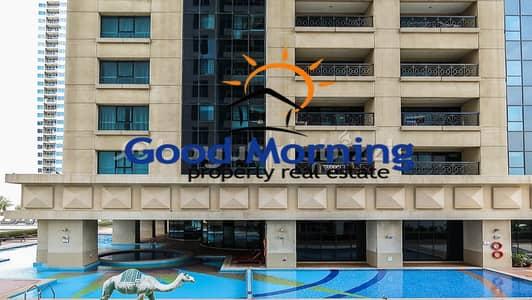 فلیٹ 1 غرفة نوم للايجار في دبي مارينا، دبي - شقة في مارينا أركيد دبي مارينا 1 غرف 55000 درهم - 4728613