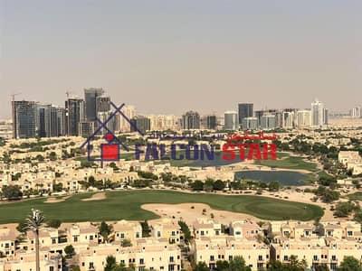 فلیٹ 3 غرف نوم للايجار في مدينة دبي الرياضية، دبي - 6250 P/Mo Excluding Bills Golf View  Furnished 3 Bed