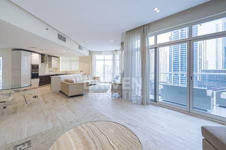 بنتهاوس 3 غرف نوم للايجار في دبي مارينا، دبي - Furnished Penthouse