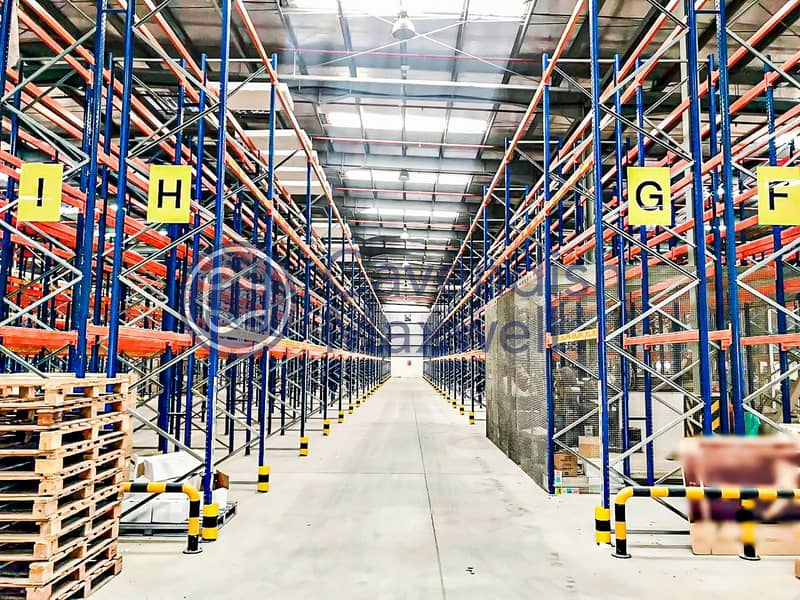 Partially Racked Warehouse | 200 kW Power