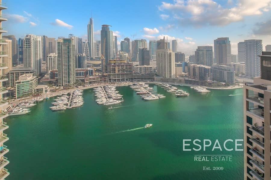 Vacant on Transfer   Large Balcony   Marina View