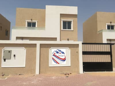 5 Bedroom Villa for Sale in Al Helio, Ajman - Villa for sale, personal finishing, excellent price, Ajman, close to the main street, a large building area