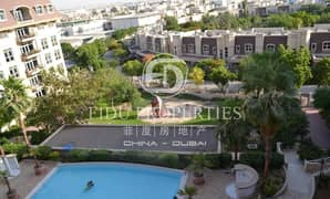 Pool and Mirdif Community View   Motivated Seller