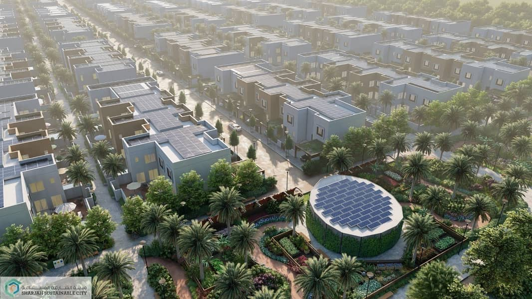 17 10% DP  5BR Villa in Sharjah Sustainable City