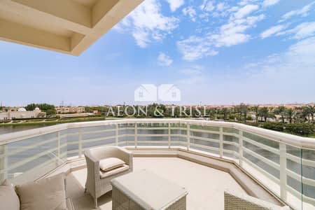 3 Bedroom Flat for Rent in Jumeirah Heights, Dubai - 3 Bedrooms Duplex with Full Lake Views.