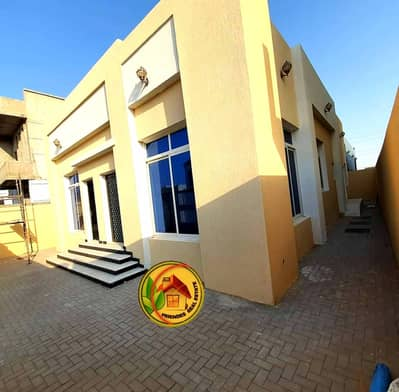 3 Bedroom Villa for Sale in Al Yasmeen, Ajman - New villa, running street, super deluxe personal finishing, and excellent price for a spot close to a mosque