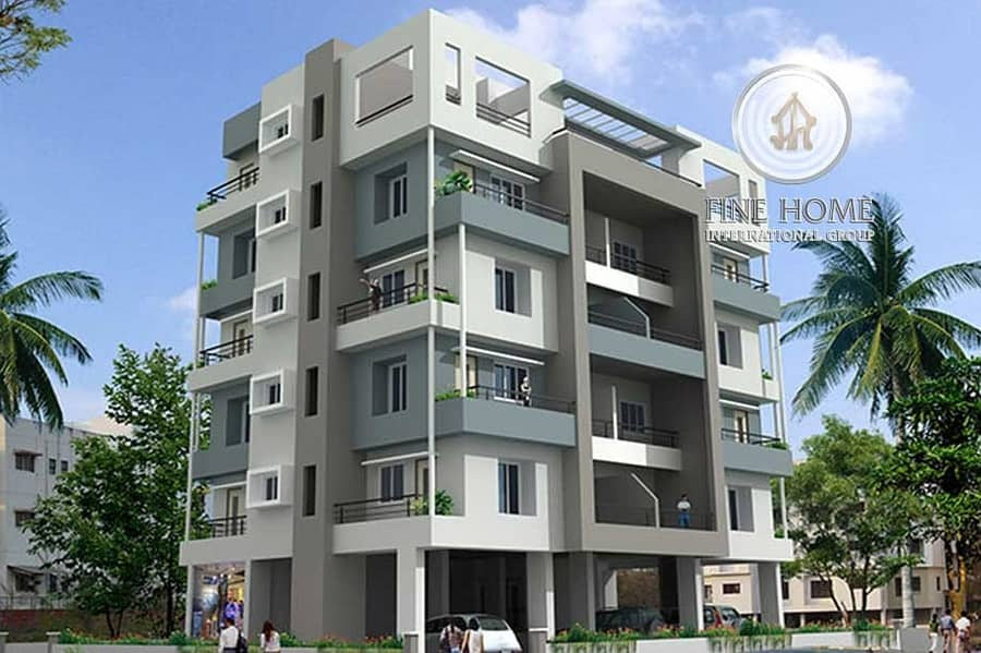 2 Residential Building | 15 Apartment | High income