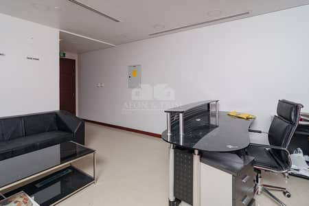 Office for Rent in Jumeirah Lake Towers (JLT), Dubai - Fitted and Furnished Office with Lake View
