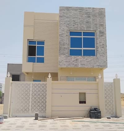 5 Bedroom Villa for Sale in Al Yasmeen, Ajman - Villa for sale super duplex finishing with the possibility of bank financing