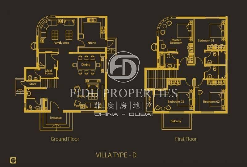 10 4 Bedroom Villa Plus Maids Room in Living Legends