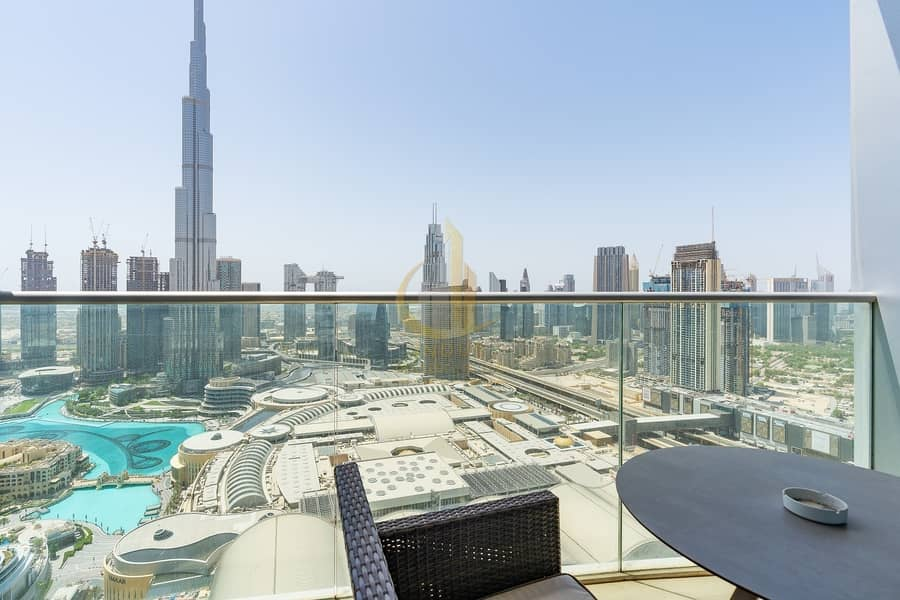 21 Grand Views of Burj and Fountain. No Commission