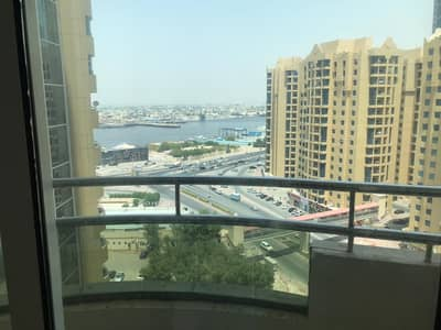 2 Bedroom Flat for Rent in Ajman Downtown, Ajman - Two rooms and a hall, the first inhabitant of the Horizon Towers, for lovers of very large spaces