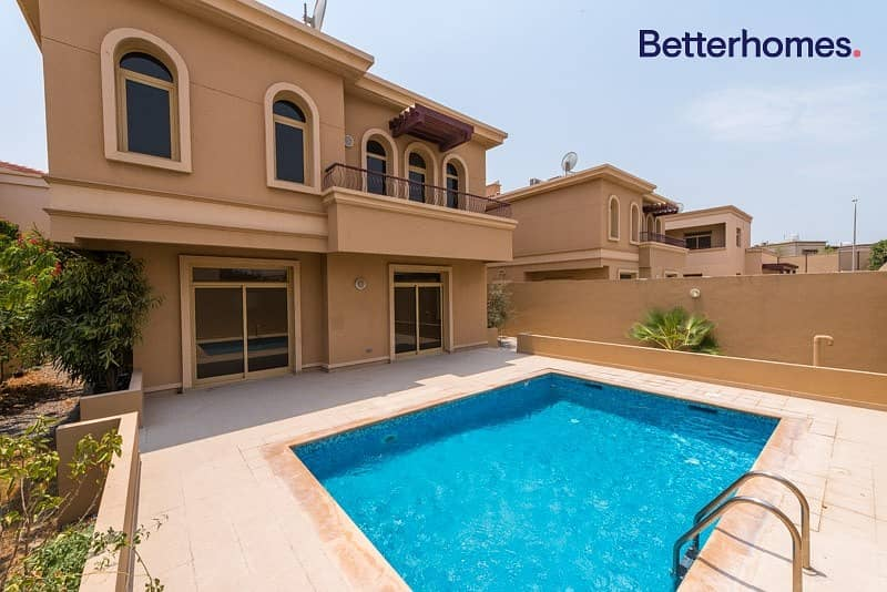 Well Maintained I Spacious I Private pool & Garden