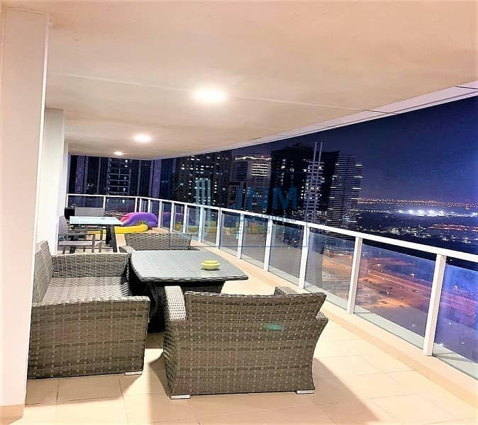 3BR with terrace |Maids room | Jumeirah island view