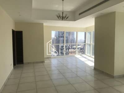 3 Bedroom Flat for Rent in Business Bay, Dubai - SPACIOUS WITH STUNNING VIEW | ONE MONTH FREE | NEAR TO METRO| HIGH FLOOR