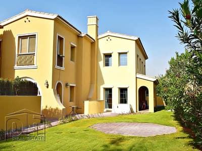 تاون هاوس 3 غرف نوم للايجار في المرابع العربية، دبي - Single Row Type A - Facing Pool - Ready Now