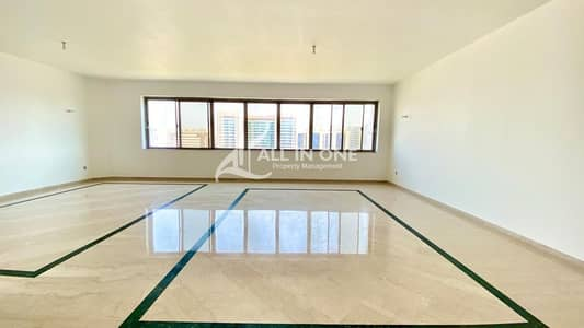 4 Bedroom Apartment for Rent in Sheikh Khalifa Bin Zayed Street, Abu Dhabi - Majestic 4BR+Maids Room in Partial Sea View!