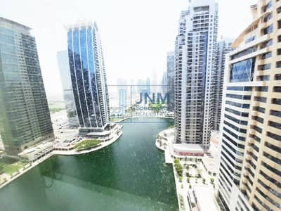 Office for Sale in Jumeirah Lake Towers (JLT), Dubai - Furnished & Partitioned Office | Close to Metro
