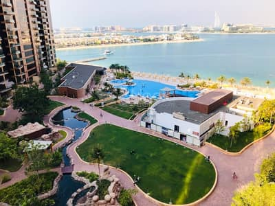 فلیٹ 1 غرفة نوم للايجار في نخلة جميرا، دبي - Beautiful 1 Bedroom l Flexible Payment  l Sea view