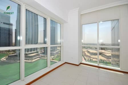 2 Bedroom Apartment for Rent in Jumeirah Lake Towers (JLT), Dubai - Spacious Layout | Lake View | Unfurnished | Vacant