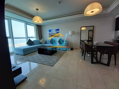 WOW! Luxury 1bedroom fully furnished apartment in corniche Full sea view!