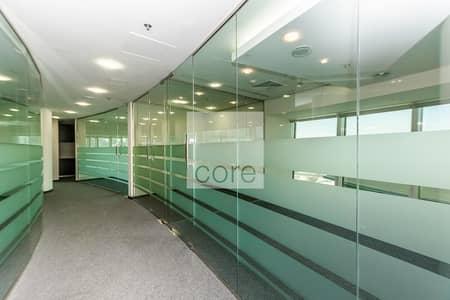 مکتب  للايجار في شارع الشيخ زايد، دبي - Fitted Office | Vacant | Carpeted | Mid Floor