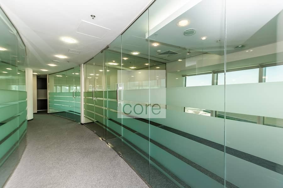 Fitted Office   Vacant   Carpeted   Mid Floor