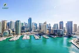 شقة في بوبورت مارينا بروميناد دبي مارينا 2 غرف 2400000 درهم - 4731659