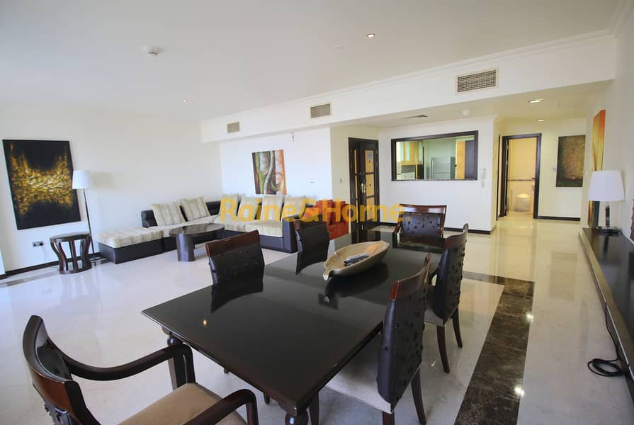2 3 Months Rent Free | JBR | Palm Views | 3BR + Maid