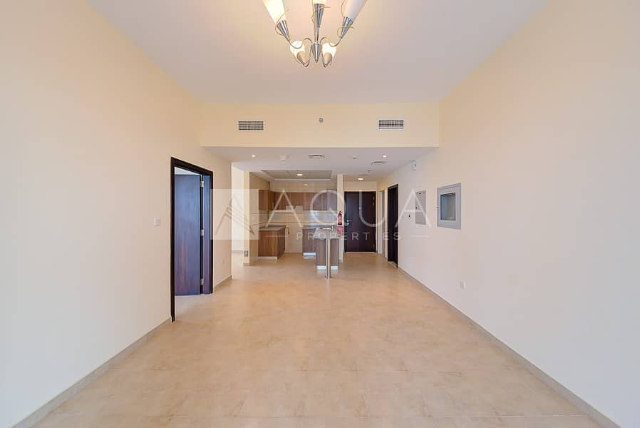 High Floor | Brand New 1 Bed + Study Apartment