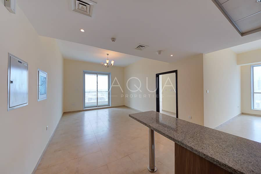 2 High Floor | Brand New 1 Bed + Study Apartment