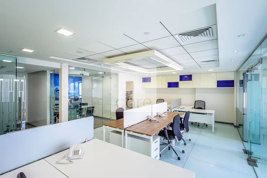 Fitted and Partitioned Office | Mid Floor