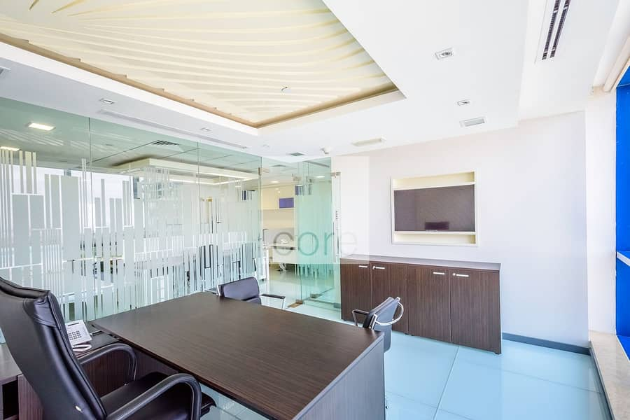 10 Fitted and Partitioned Office | Mid Floor
