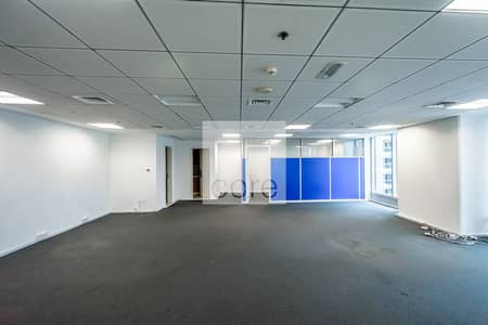 Office for Rent in Jumeirah Lake Towers (JLT), Dubai - Fitted | Glass Partitions | Prime Location