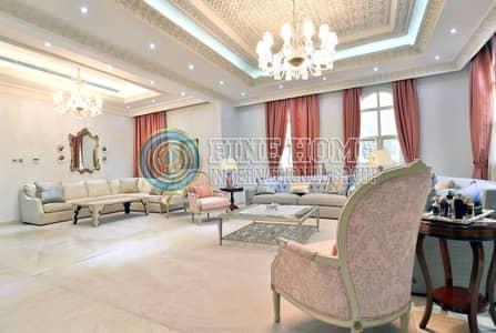 فیلا 9 غرف نوم للبيع في مدينة بوابة أبوظبي (اوفيسرز سيتي)، أبوظبي - For Sale Villa | 9 Bedrooms | Sauna | Gym