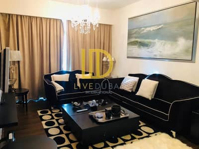 1 Bedroom Flat for Rent in Jumeirah Lake Towers (JLT), Dubai - SH -Fully Furnished -Sea View -3 Min Walk To Metro