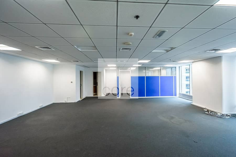 Fitted with Glass Partitions | Prime Location