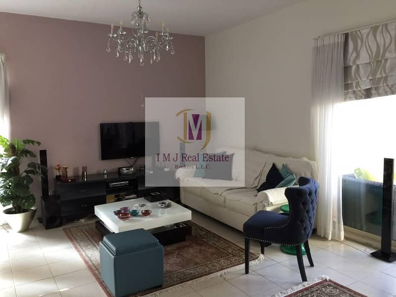 Well maintained 2 BR Unfurnished