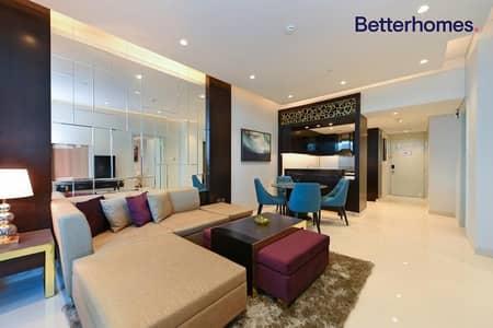 شقة فندقية 1 غرفة نوم للايجار في وسط مدينة دبي، دبي - Fully Furnished   Bills are Separate   Vacant Soon