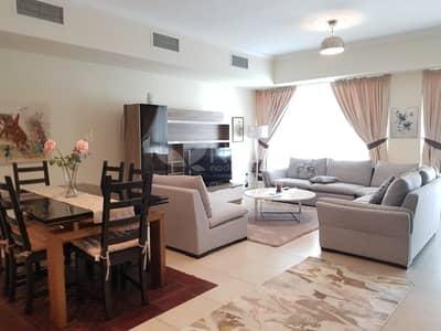 فلیٹ 2 غرفة نوم للايجار في دبي مارينا، دبي - Furnished 2 BR + Study | Al Majara 1 | Dubai Marina