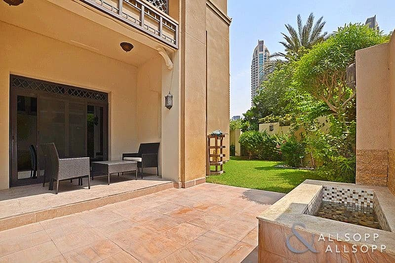 2 Bedrooms   Unfurnished   Private Garden