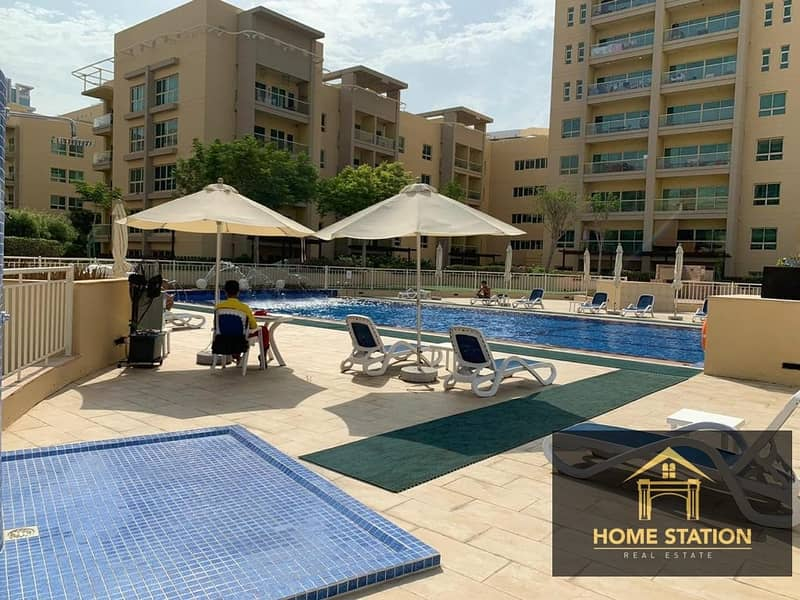 18 CHILLER FREE |EMAAR|  SEMI FURNISHED | BRIGHT & SPACIOUS