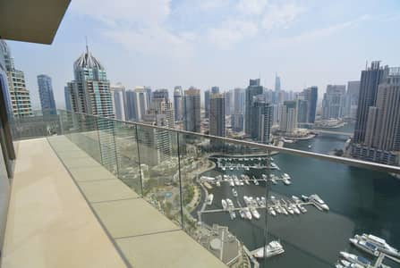 4 Bedroom Apartment for Sale in Dubai Marina, Dubai - One of a Kind Cornor apartment |W| Full Maina View